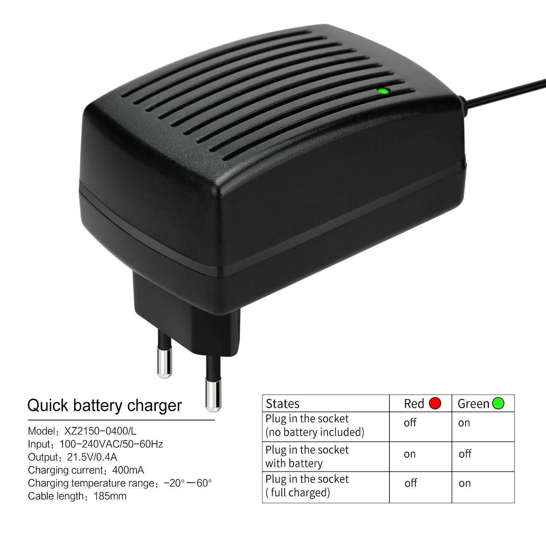 GALAX PRO Reemplazo Herramienta El/éctrica Bater/ía 20V 1.3Ah Li-Ion Para GALAX PRO Taladro Inalambrico Destornillador