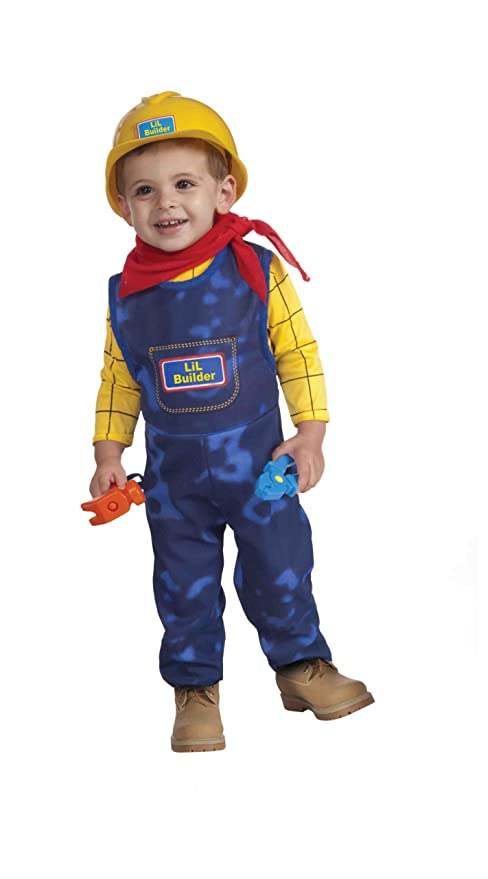 sc 1 st  Amazon UK & Little Builder Child Costume Size Toddler: Amazon.co.uk: Clothing