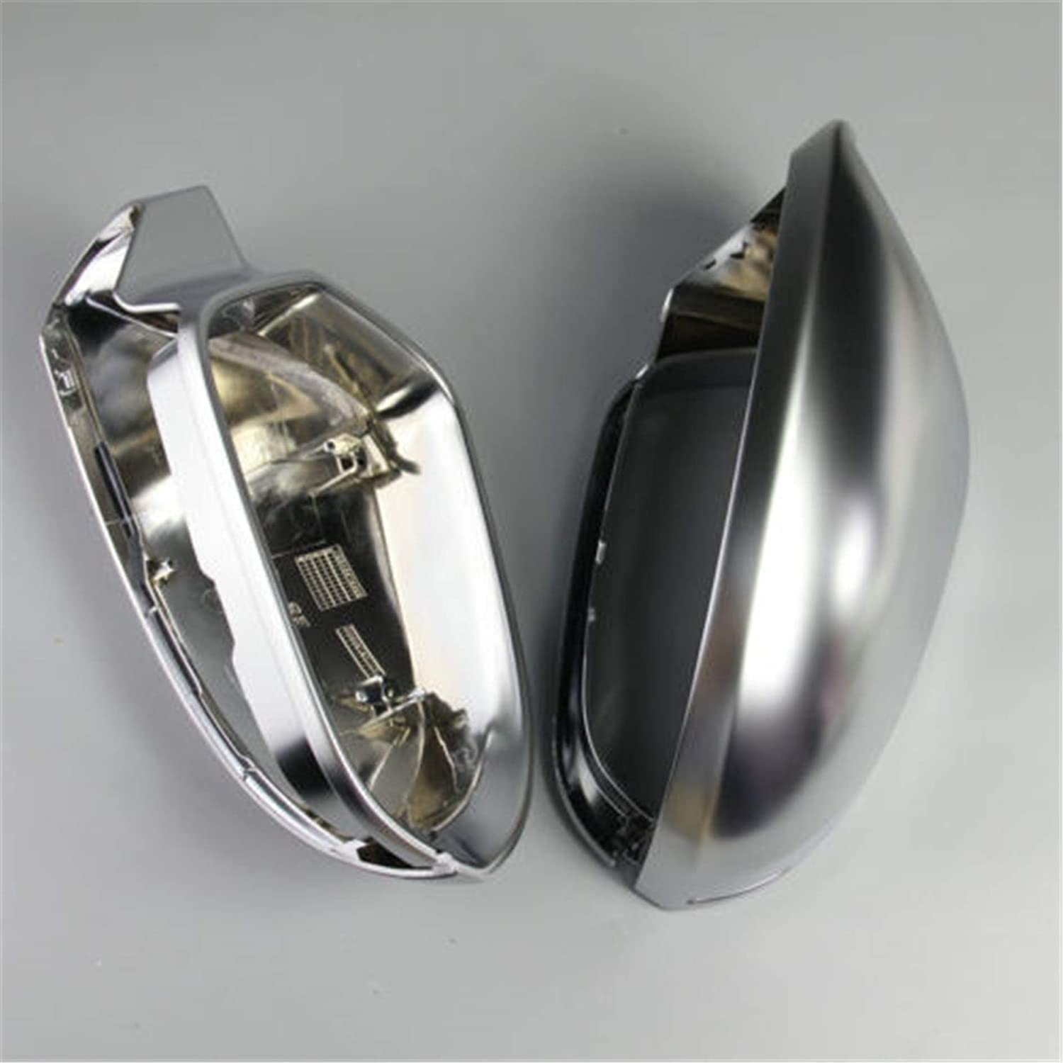 HDX Side Wing ABS Chrome Rear View Mirror Replacement Cover Cap for Audi Sline Quattro A3 S3 2010-2013 8P BF630
