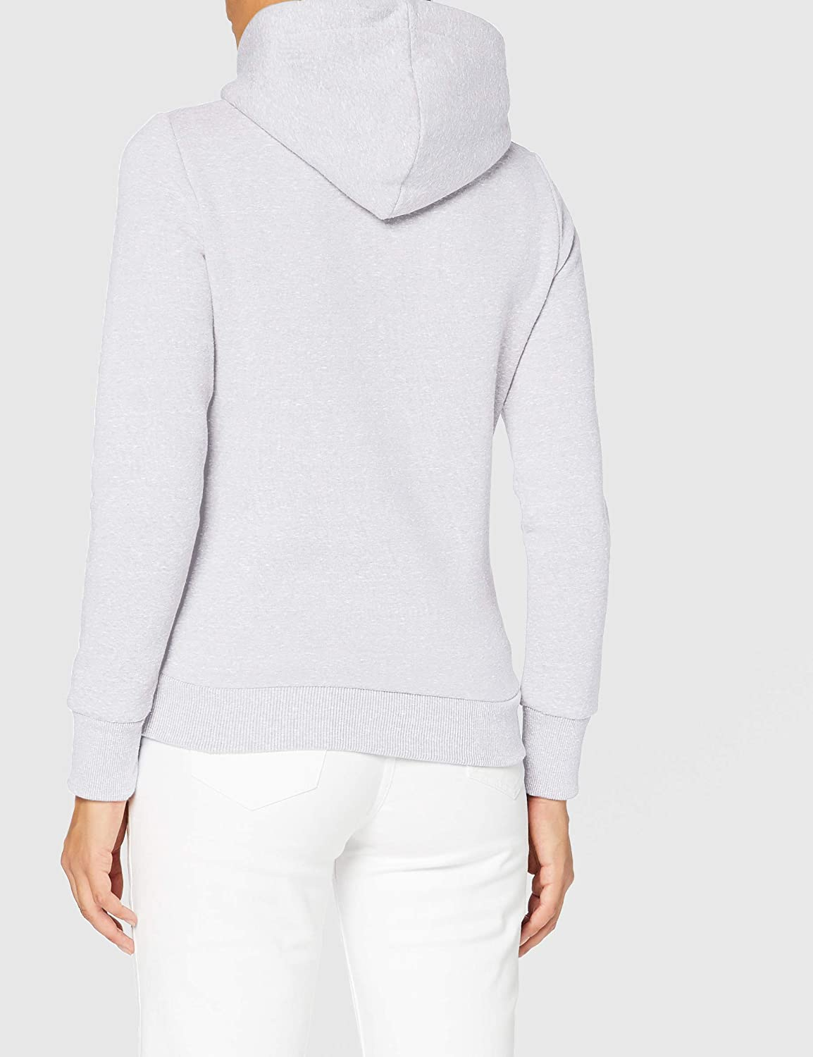 Superdry Damen Rw Classics Hood Hooded Sweatshirt Ice Marl