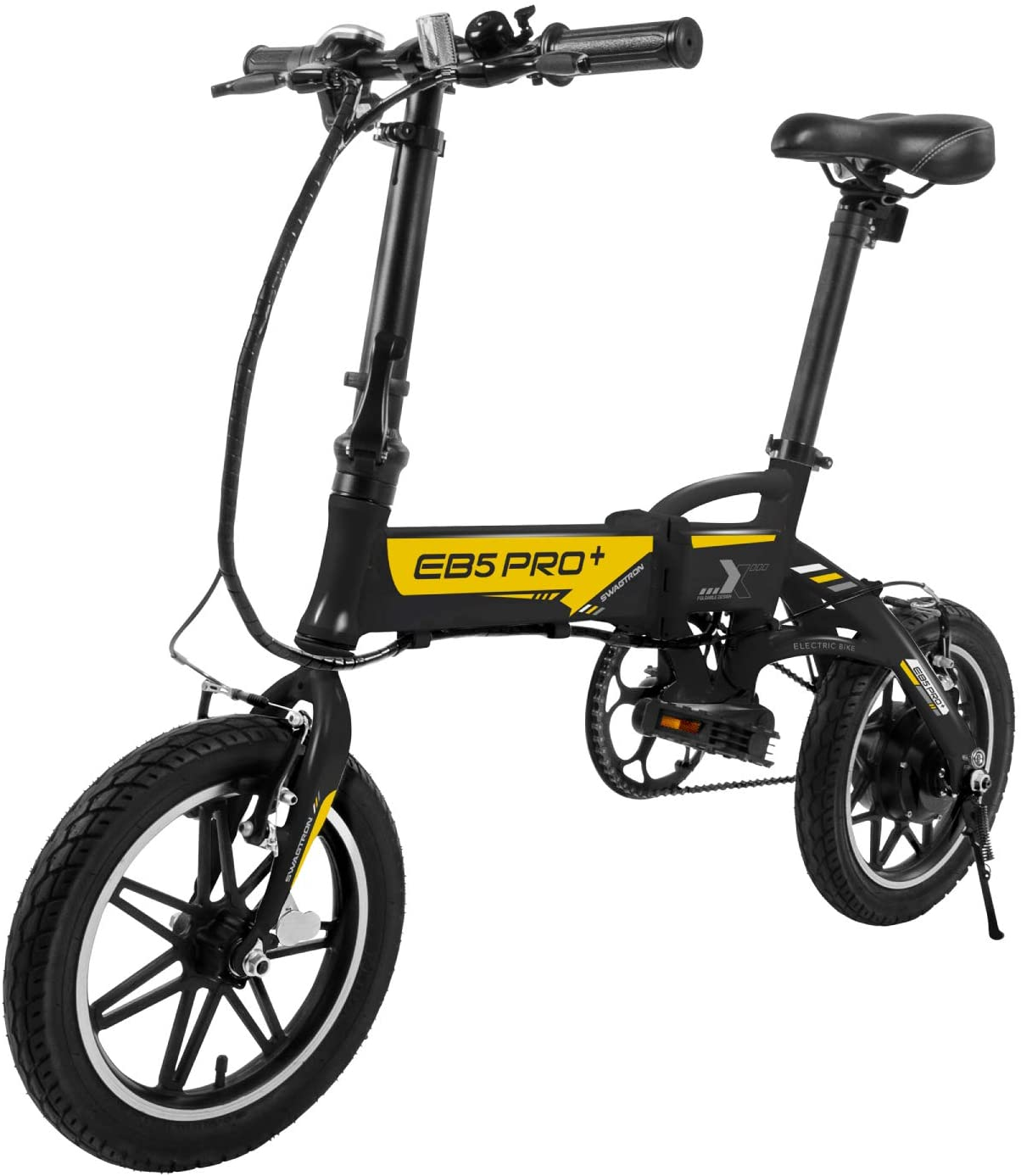 Amazon.com: SWAGTRON Swagcycle EB5 Series Ebike plegable de ...