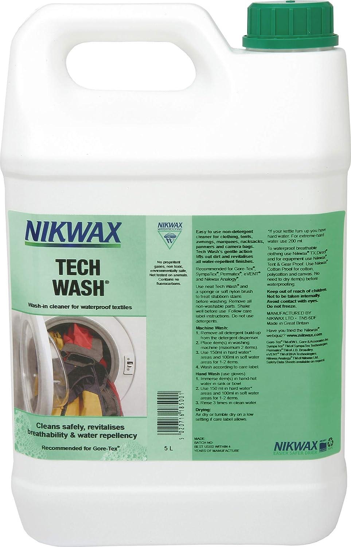 NIKKI'S Nikwax Tech Wash - Limpiador de Ciclismo