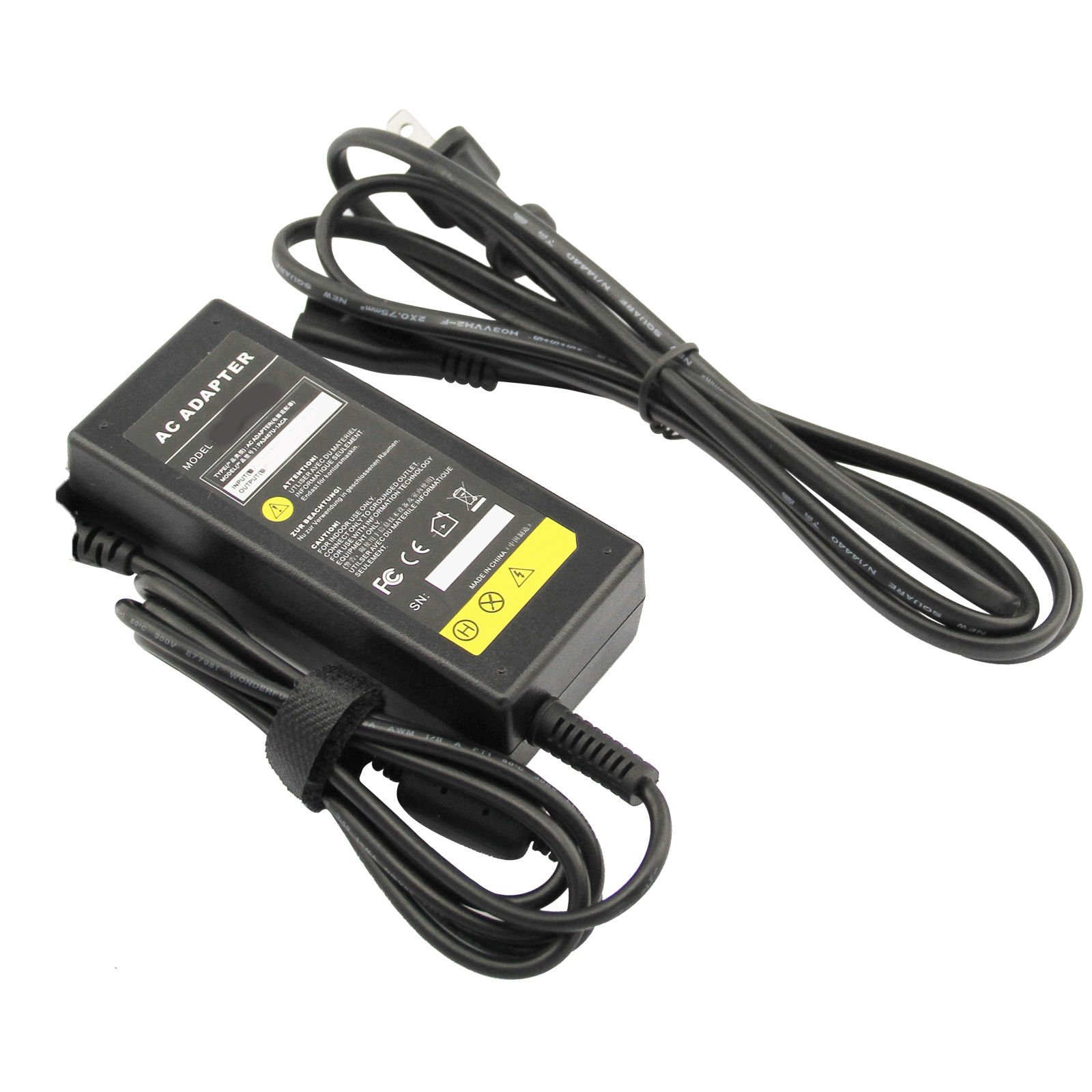 AC Adapter Wall Charger for Toshiba Satellite L855d-s5220 L875d-s7210 L875d-s7232 P845-s4200 P875-s7200 S855-s5254 S855-s5268 S855d-s5253 S875-s7242 ; Portege R935-p326 Laptop Notebook PC US Power Supply