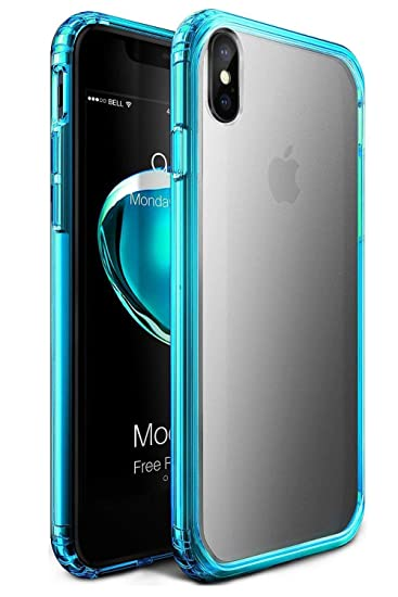on sale 2a489 2f39c Mkeke Compatible with iPhone Xs Case,iPhone X Case,Clear Anti-Scratch Shock  Absorption Cover Case iPhone Xs/X -Green