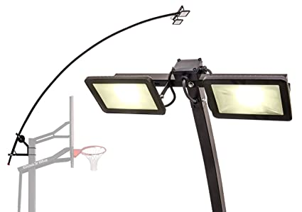 Amazon Com Goalrilla Led Basketball Hoop Light Illuminates