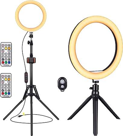 Yunlights Rgb Led Ringlicht Mit Ständer Fernbedienung Kamera