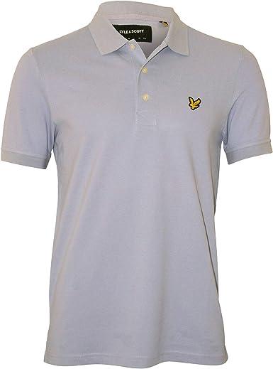 Lyle & Scott Clásico Pique Camisa De Polo De Los Hombres, Azul ...