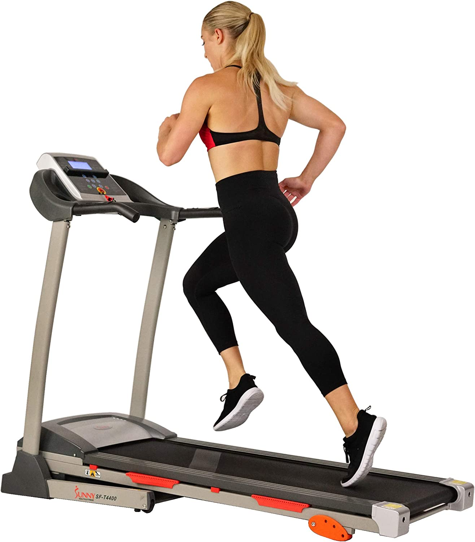Sunny Health & Fitness Treadmill Motorized Running Machine