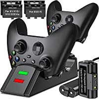 Upgraded Controller Charger for Xbox one, Controller Charging Station Compatible with Xbox Series X|S/One/Elite Dual…