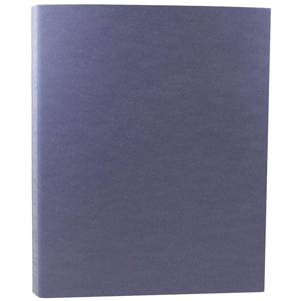JAM PAPER Translucent Vellum 43lb Cardstock - 8.5 x 11 Coverstock - Wisteria Purple - 50 Sheets/Pack by JAM Paper