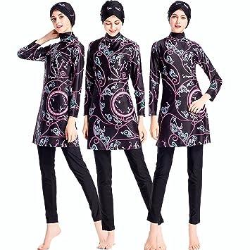 987fbd52b5f ziyimaoyi Muslim Women Swimwear Islamic Swimsuit For Women Hijab Swimwear  Full Coverage Swimwear Muslim Beachwear Swim
