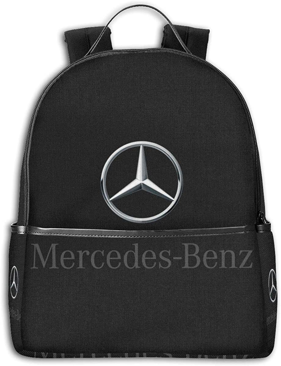 ShannonStone Girl's M-Benz Black-edged Multifunctional Full Print Bags For University
