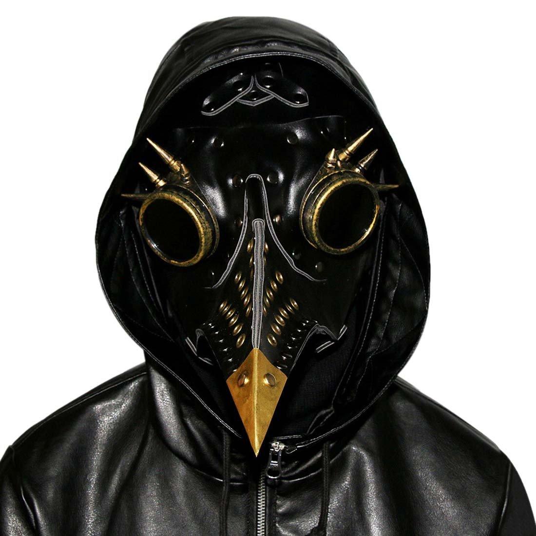 QIYUN.Z Pest Schnabel Maske Gothic Cosplay Retro Doktor Vogelmaske PU-Leder Maske B0751BQ224 Masken für Erwachsene Produktqualität | eine breite Palette von Produkten