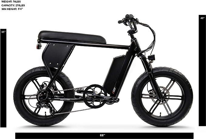 Juiced Bikes City Scrambler - Bicicleta eléctrica para llanta de ...