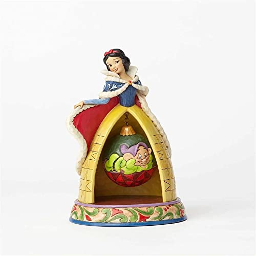 Jim Shore Disney Traditions by Enesco Snow White Xmas