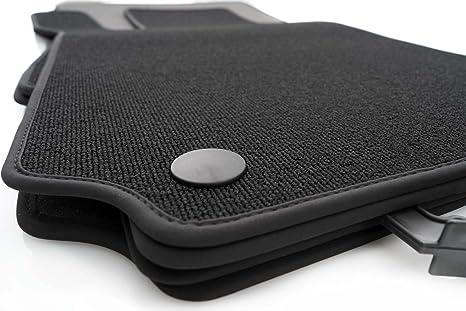 Kh Teile Fußmatten Schlingenflor Automatten Original Qualität 4 Teilig Schwarz Auto