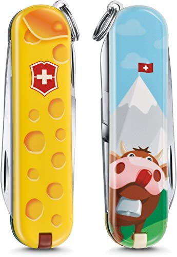 Alps Cheese Limited Edition Classic SD Swiss Army Knife by Victorinox