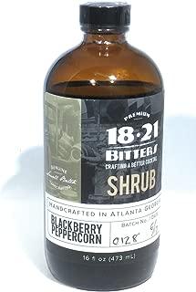 product image for 18.21 Blackberry Peppercorn Shrub 16oz Drinking Vinegar