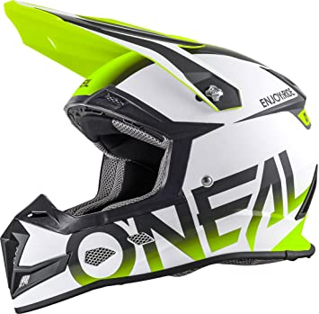 0618-022 - Oneal 5 Series Blocker Motocross Helmet S Matt Black Hi-Vis