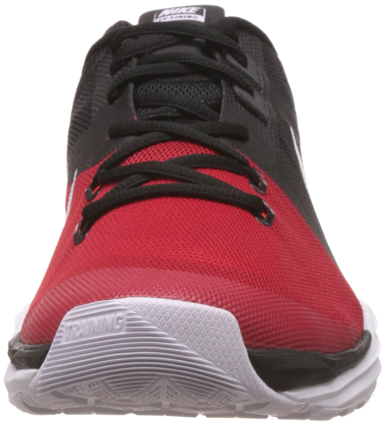 NIKE Men's Train Prime Iron DF Cross Trainer Shoes B014GMY1AW 6.5 D(M) US|Black/White/University Red/Anthracite