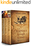 Heroes Through History Series 3-Book Boxed Set: Civil War historical romance: A love story in old Virginia (Heroes…