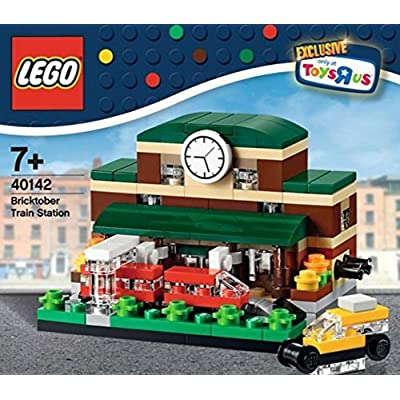 LEGO 2015 Bricktober Exclusive Train Station Set 2/4 (40142): Toys & Games