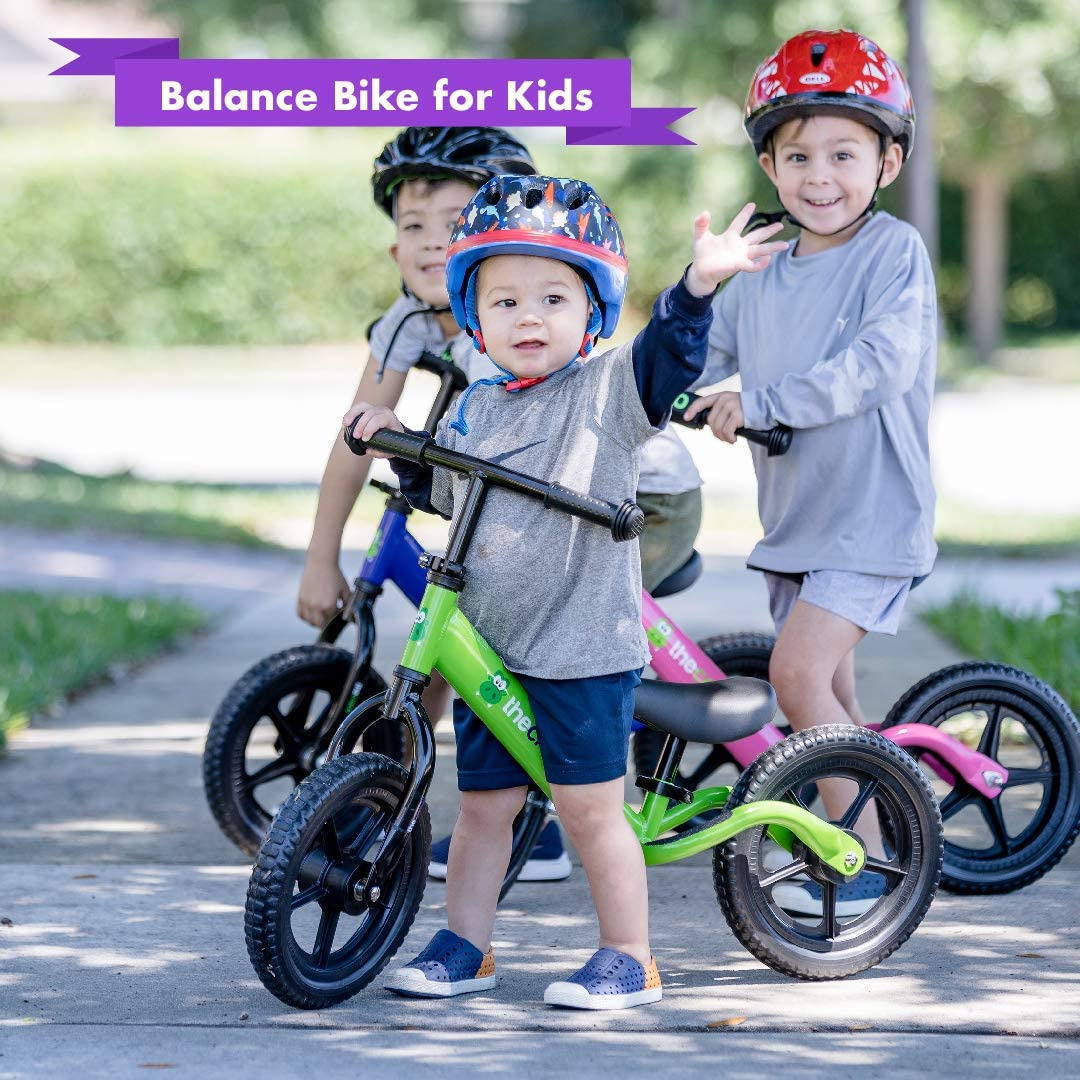 The Croco Lightweight Balance Bike Premium for Toddlers and Kids