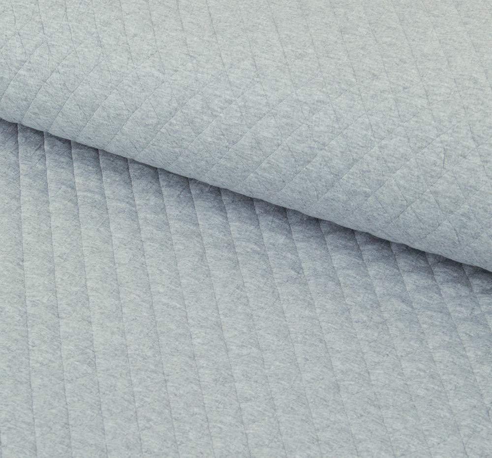 al Metro da 50 cm x 150 cm Trapuntato Jacquard con Rombi Tessuto da Cucito. Aghi in Cotone