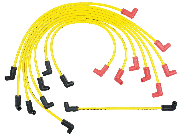 Amazon.com: ACCEL 8848 Performance 8.8mm Spiral Core Spark Plug Wire ...