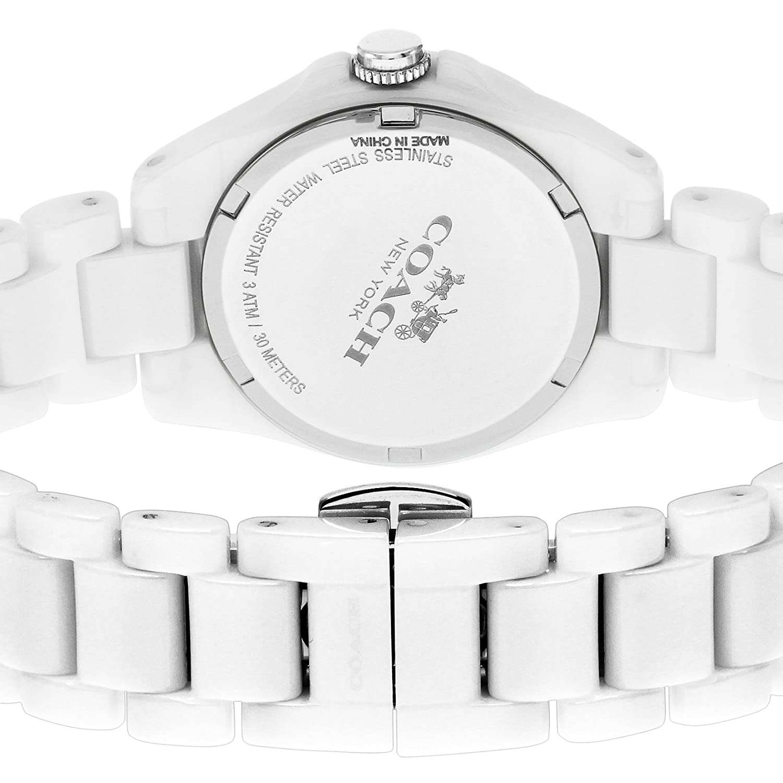 253455df31 Amazon | コーチ トリステン ミニ セラミック レディース 腕時計 CO14502154 ホワイト[並行輸入品] |  並行輸入品・逆輸入品・中古品(レディース) | 腕時計 通販
