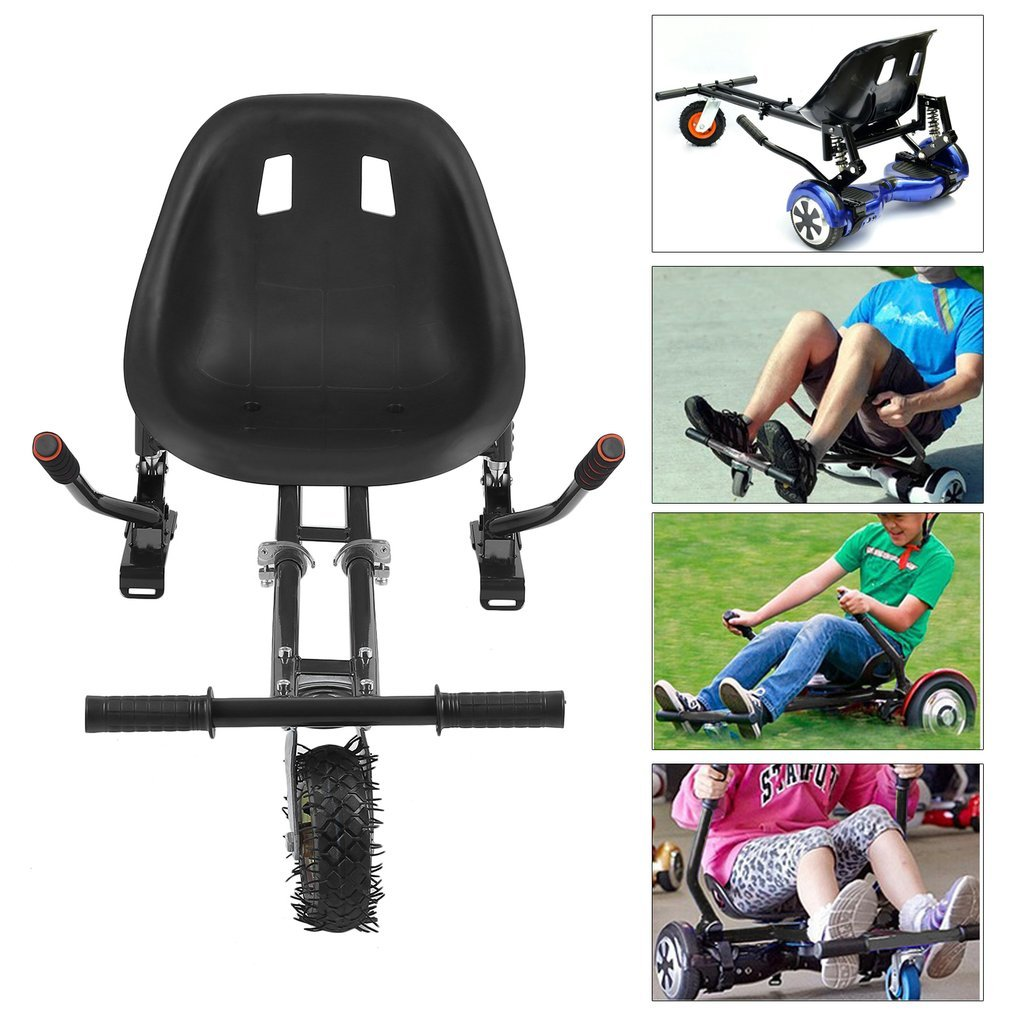 Homgrace Hover Seat Mini Kart Hoverboard Accessories for Adjustable -Compatible with All Hoverboards