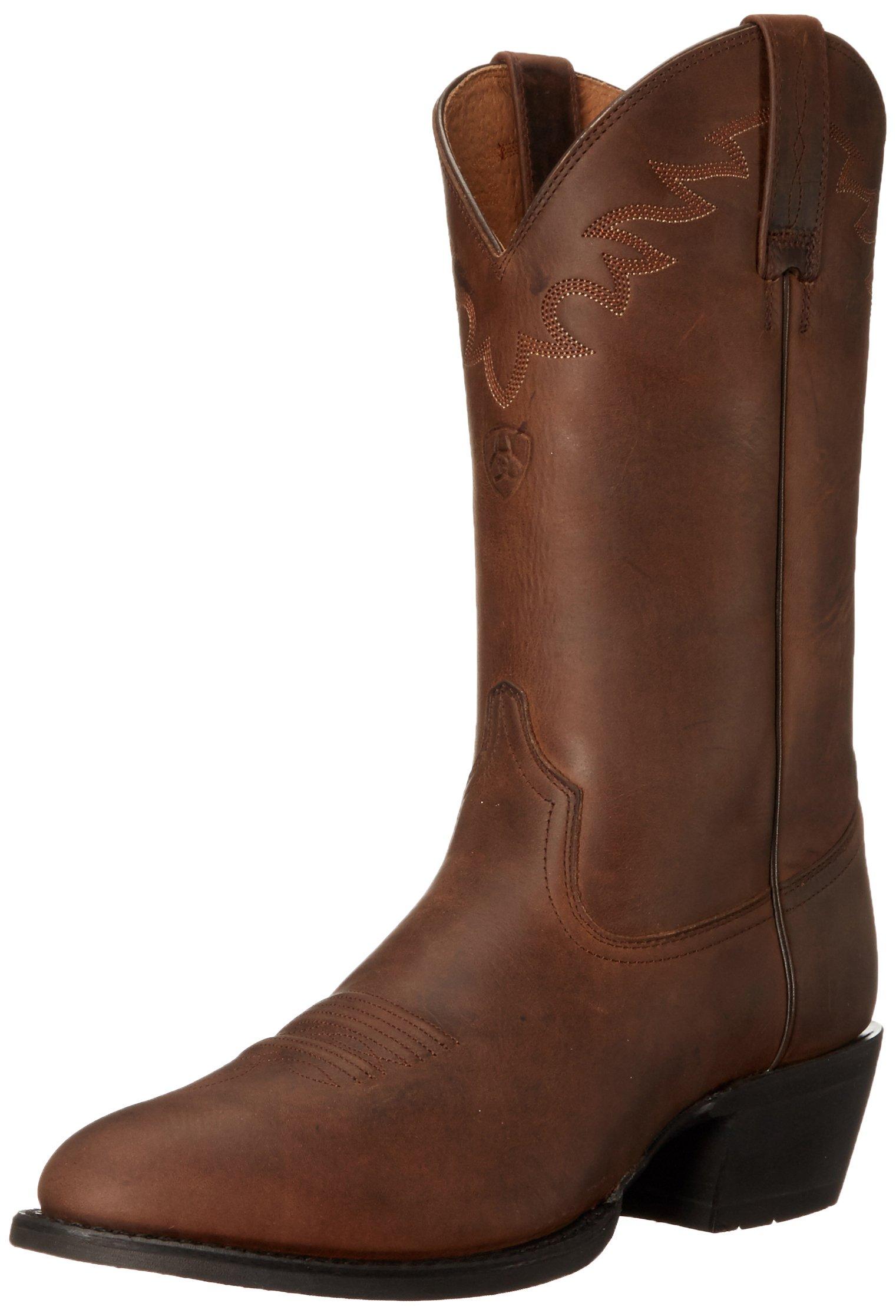 Ariat Men's Sedona Western Cowboy Boot, Distressed Brown, 12 M US