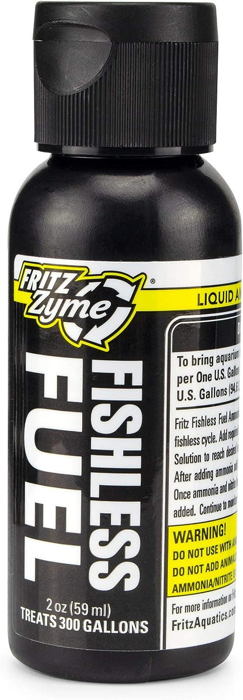 Fritz Aquatics Fishless Fuel Ammonia Solution for Aquariums 2 oz