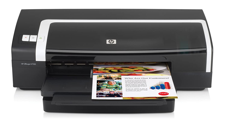 HP Officejet K7100 Color Printer - Impresora de tinta (Hasta ...