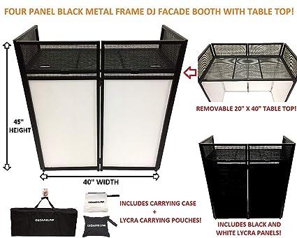 Amazon.com: DJ Event Facade - Cabina con marco de metal ...