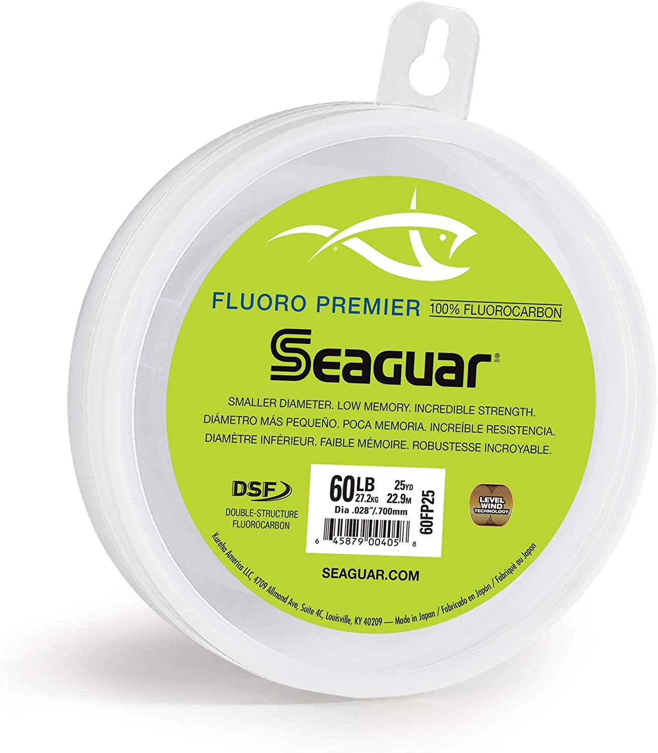 60-Pounds Seaguar Fluoro Premier 25-Yards Fluorocarbon Leader