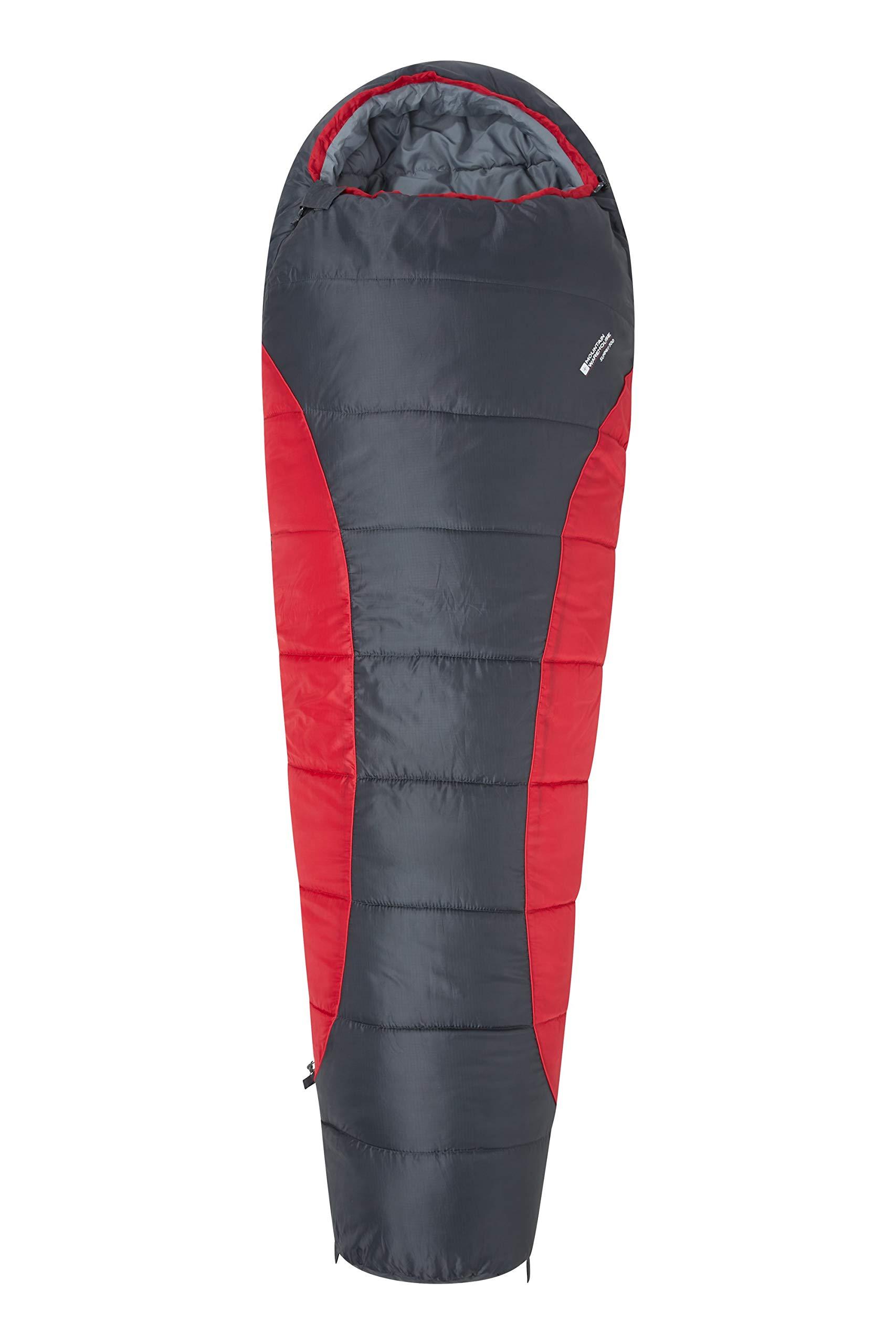 Mountain Warehouse Saco de Dormir Summit 300-23 x 41 cm - Cómodo, Saco de Dormir cálido product image