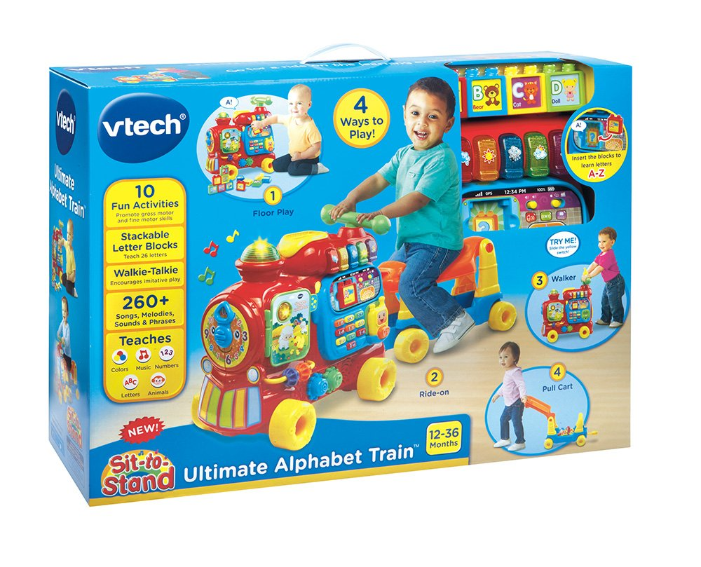 VTech Sit-to-Stand Ultimate Alphabet Train by VTech (Image #9)