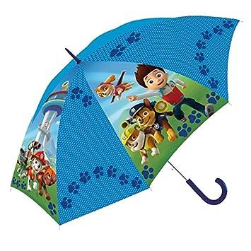 PAW PATROL Paraguas de la Patrulla Canina - PW16000 45 cm, Color Azul