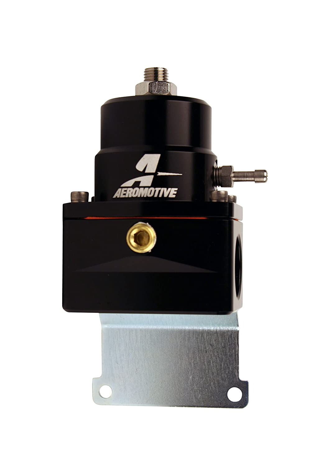 2 Aeromotive 13128 Regulator Adjustable EFI Black -10 inlets