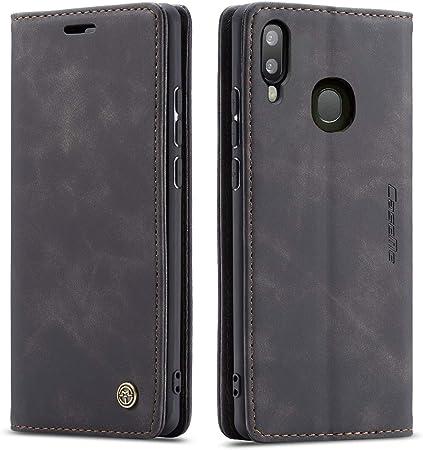 Qltypri Hülle Für Samsung Galaxy A40 Vintage Dünne Elektronik