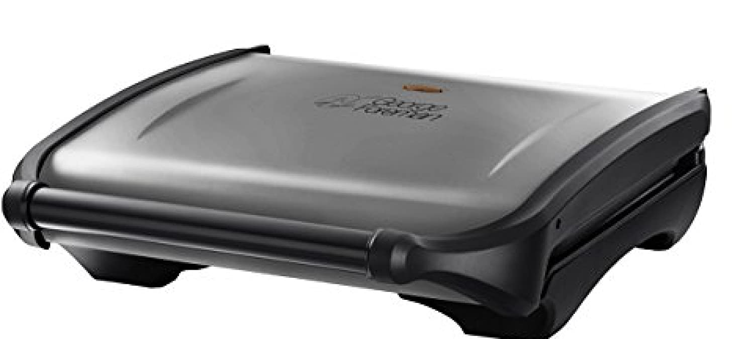George Foreman 19932 Entertaining Seven Portion Grill - Silver [並行輸入品]   B01MZ19J09