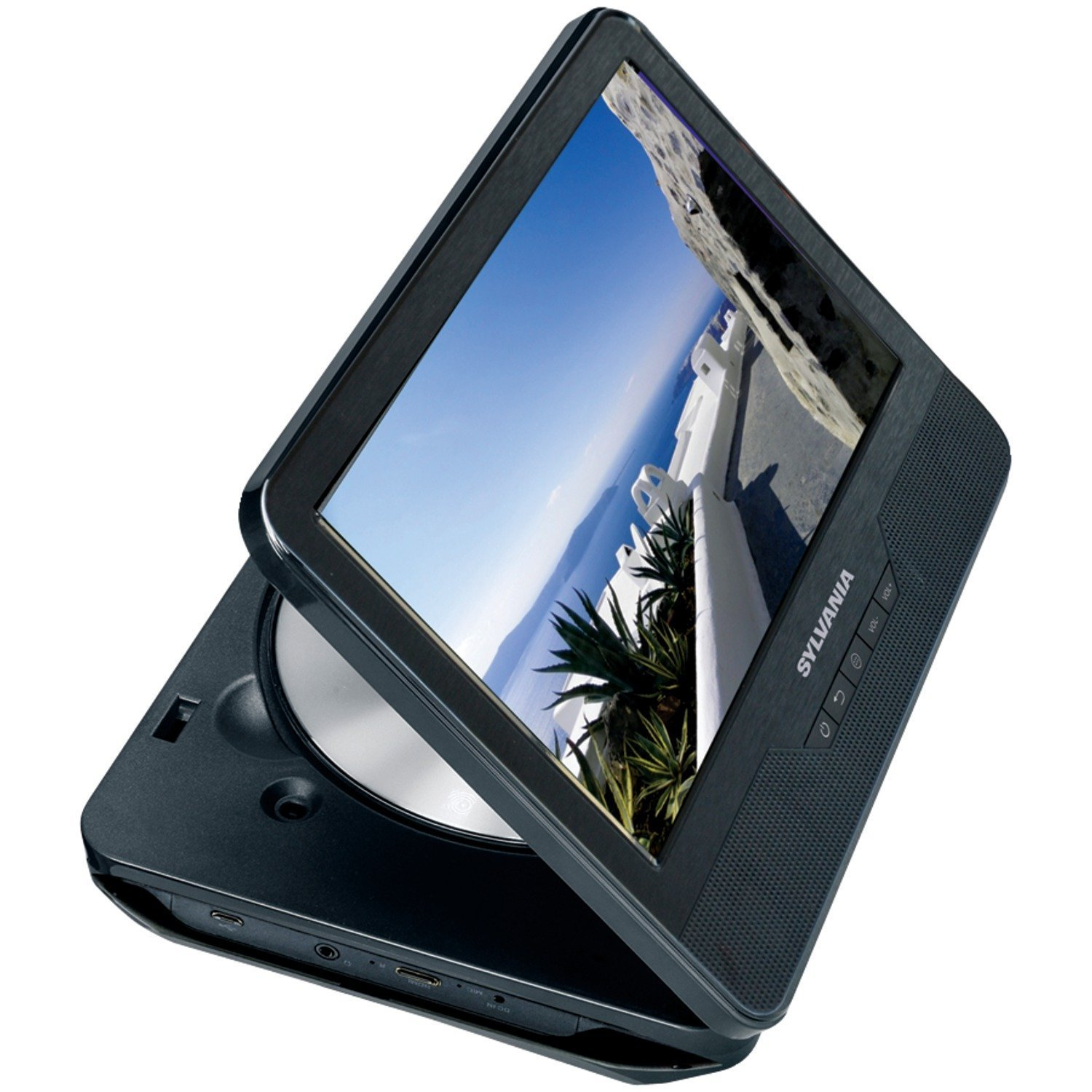 Sylvania SLTDVD9220 3-in-1 9-Inch Touchscreen Tablet, Portable DVD Player and DVD Combo with Android, 1.2GHz Quad Core