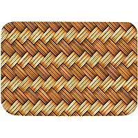 Absorbent Floor Mat Anti-Slip Door Mat Absorbs Mud Doormat Washable Rug Carpet Entrance Way Entry Rug Doormats Bamboo…