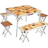 コールマン テーブル ナチュラルモザイクファミリーリビングセットプラス 2000026757