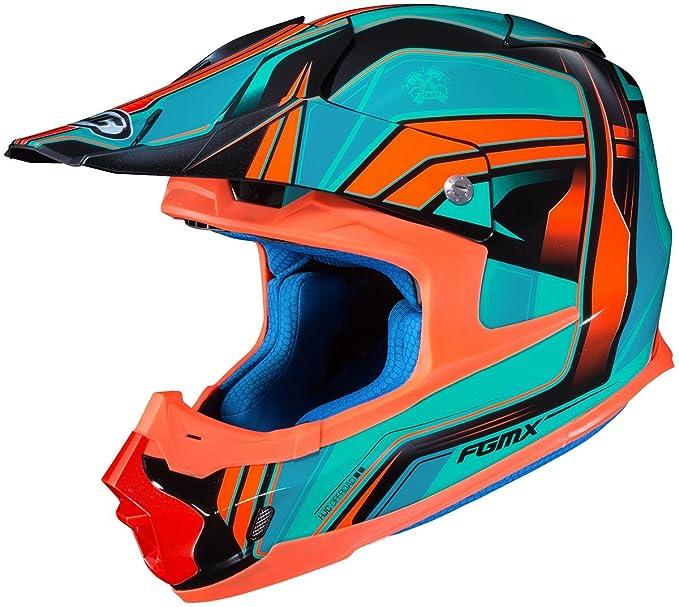 HJC FG-MX Helmet - Piston