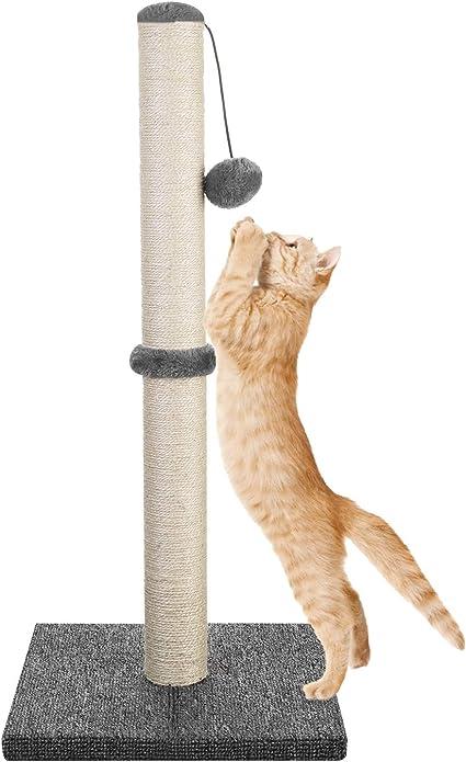 Rascador de cart/ón Corrugado Juego de 3X Accesorio afilador de u/ñas para Gatos Navaris Set de rascadores para Gato 3X Ara/ñador de 43 x 24 CM