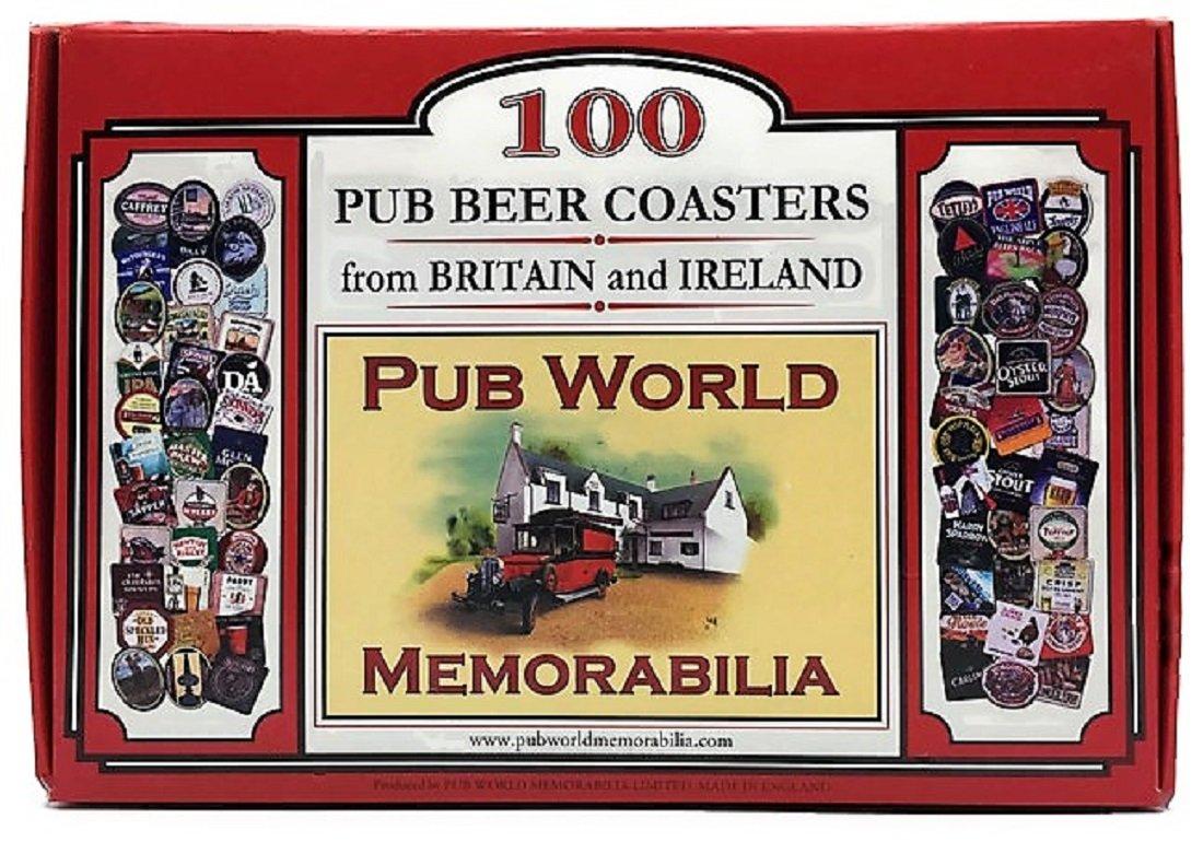 イギリスから100パブビールコースターとアイルランド   B077F4LXSV
