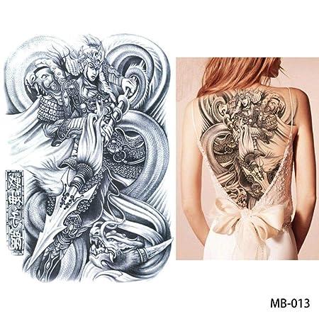 adgkitb 2 Piezas Pegatina de Tatuaje en el Pecho de Espalda ...