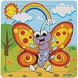 Malloom® Jouets Abeille de Puzzle en Bois Pour Puzzles éducation et D'apprentissage Des Enfants Des Jouets